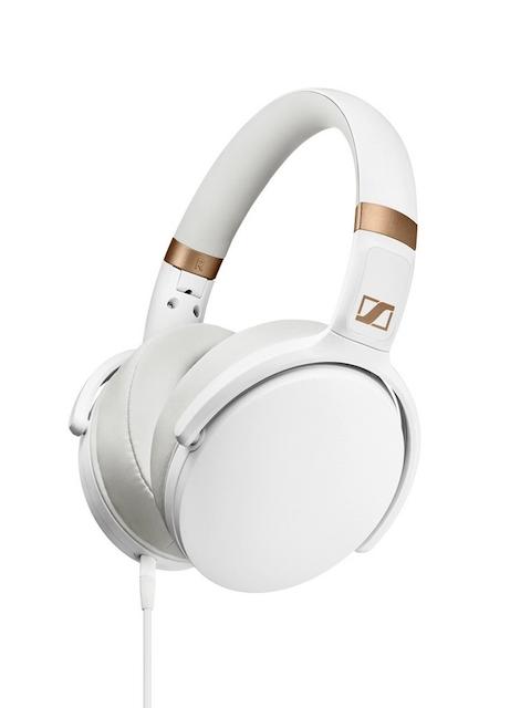 Sennheiser White HD 4.30I Foldable Headphones with Mic