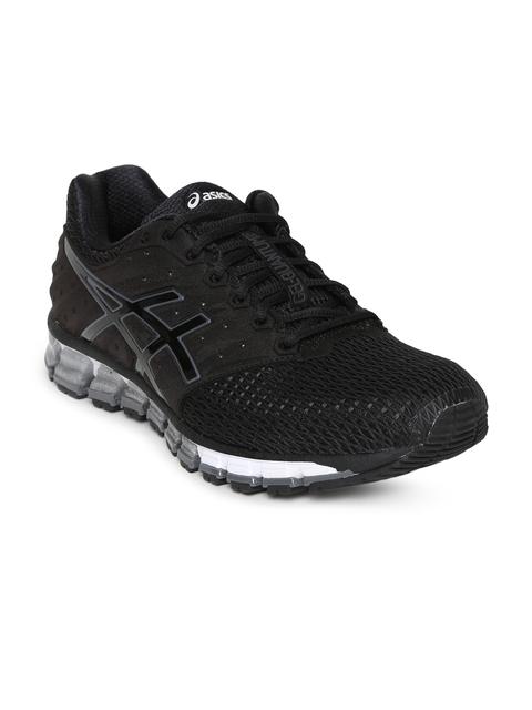 ASICS Men Black GEL-QUANTUM 180 2 Running Shoes
