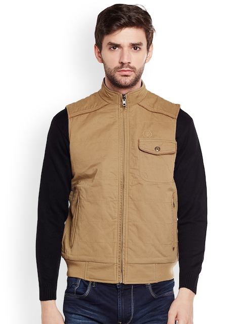 Duke Men Khaki Solid Bomber