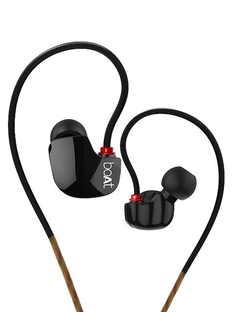 boAt Black Nirvanaa UNO Headphones 8904130841446