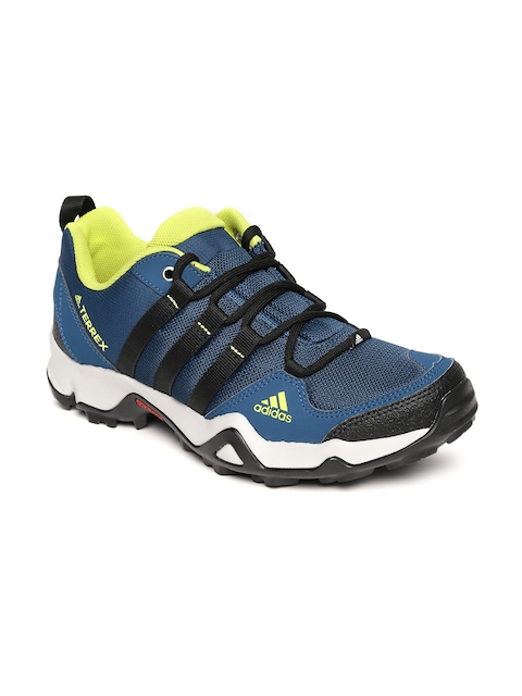 Adidas Men Navy Blue Path Cross Outdoor Shoes  available at myntra for Rs.6599