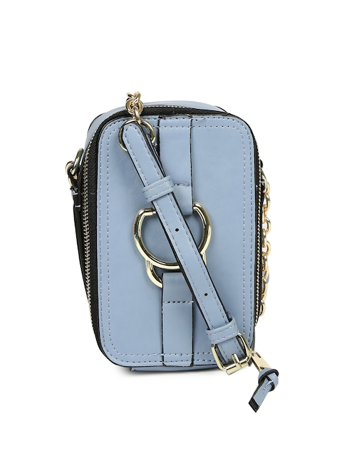 Accessorize Blue Solid Sling Bag