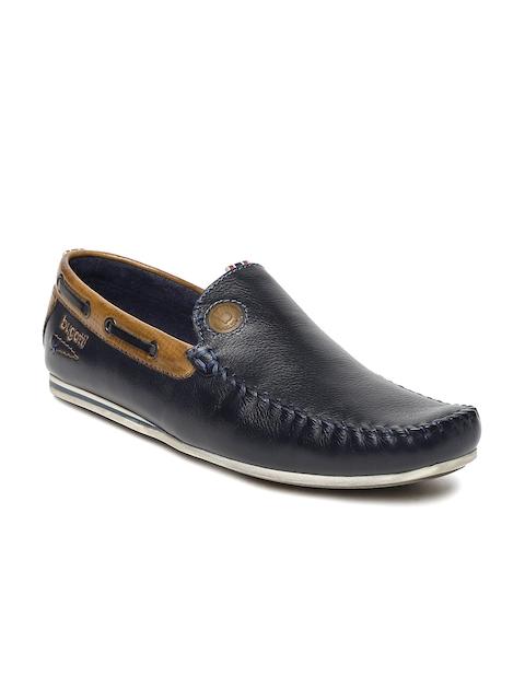 Bugatti Men Navy Blue Loafers