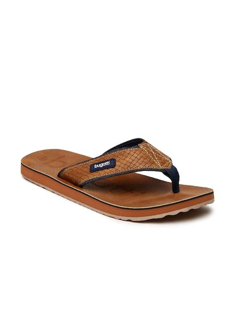 Bugatti Men Brown Fidji Flip-Flops
