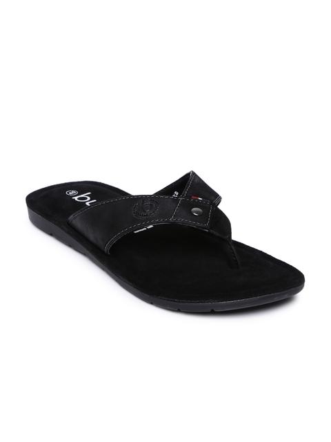 Bugatti Men Black Roma Leather Sandals