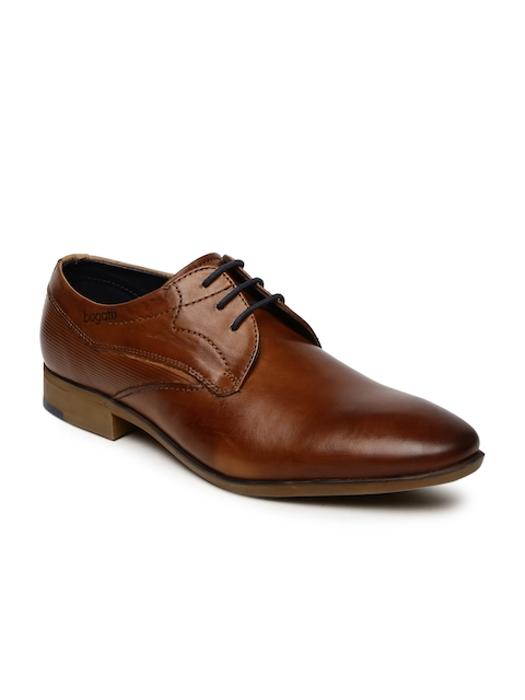 Bugatti Men Brown Rossano Derby Formal Shoes