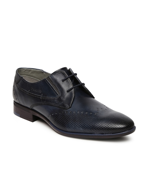 Bugatti Men Navy Blue Rossano Derby Formal Shoes