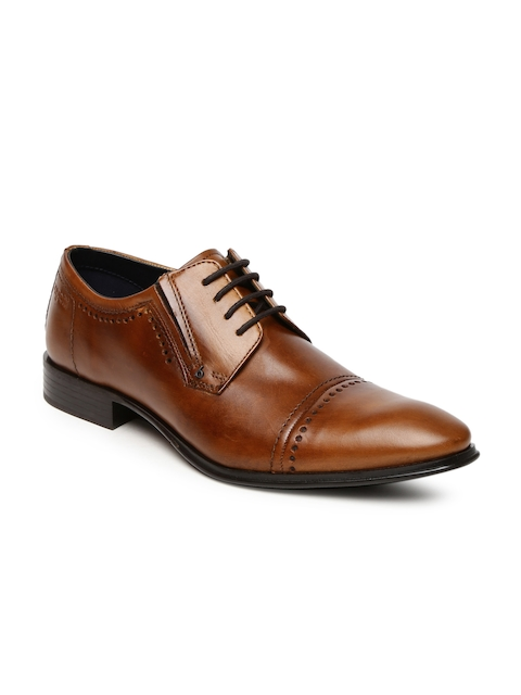 Bugatti Men Brown Lazzaro Derby Formal Shoes