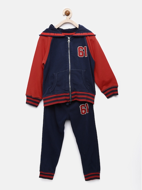 mothercare Boys Navy & Red Clothing Set