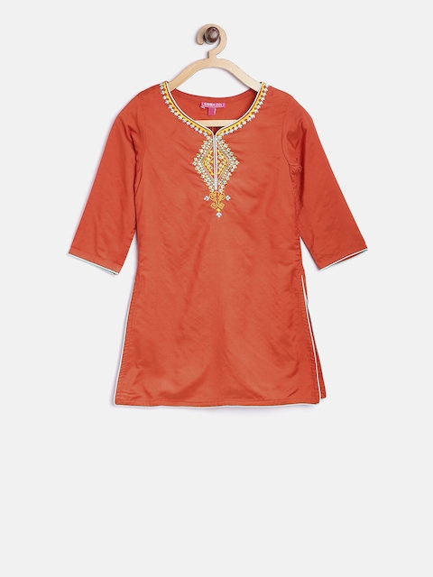 Biba Girls Orange Kurti