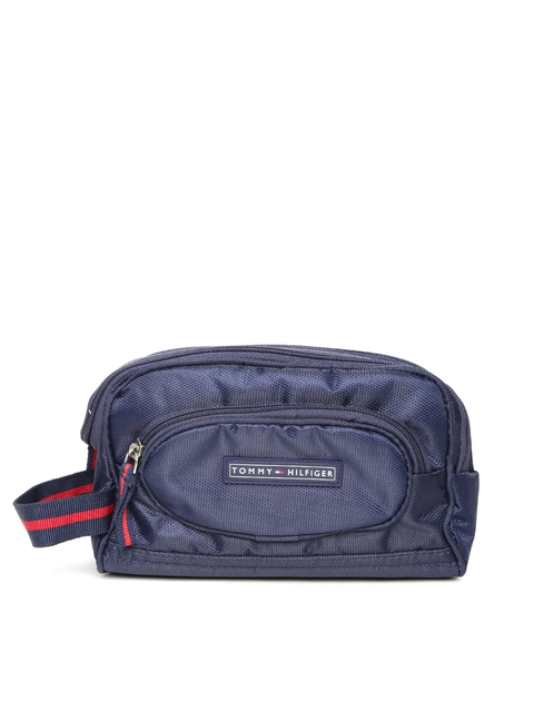 Tommy Hilfiger Unisex Navy Toiletry Bag