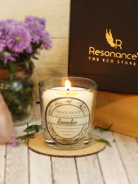Resonance Set of 2 Lavender Scented Candles