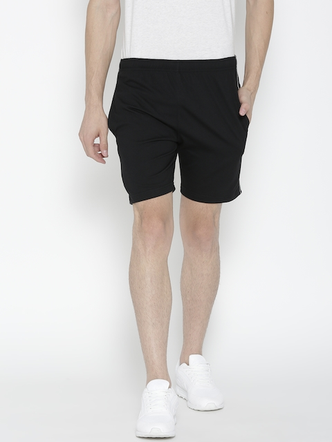 Sweet Dreams Men Black Solid Sports Shorts  available at myntra for Rs.279