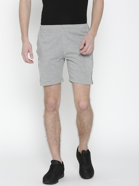 Sweet Dreams Men Grey Melange Solid Sports Shorts  available at myntra for Rs.279