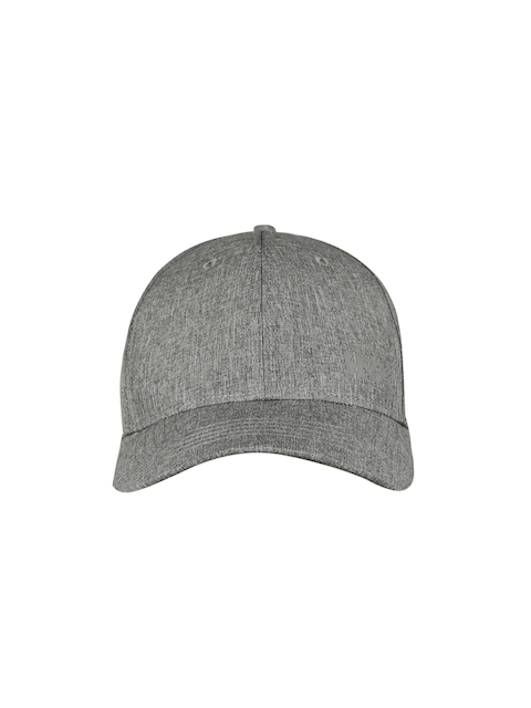 HRX by Hrithik Roshan Men Charcoal Solid Baseball Cap