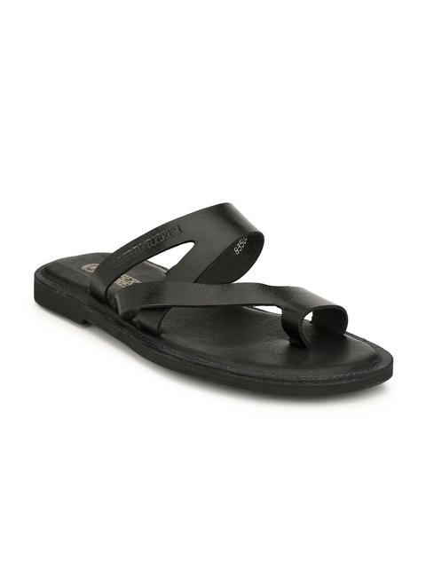Alberto Torresi Comfort Men Black Sandals