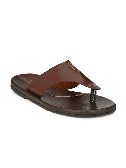 Alberto Torresi Comfort Men Brown Sandals