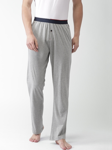 Tommy Hilfiger Men Grey Lounge Pants A7ABN107