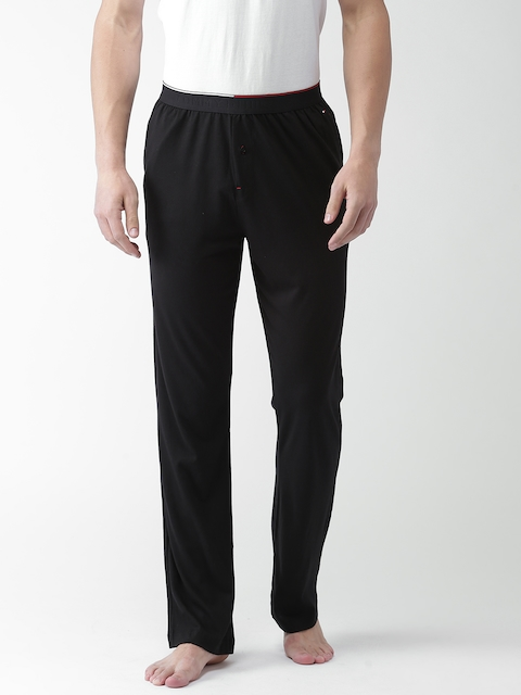 Tommy Hilfiger Men Black Lounge Pants A7ABN109