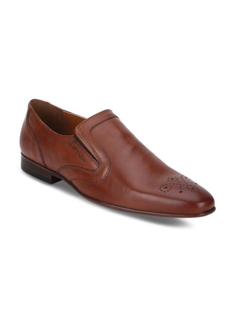 Red Tape Men Tan Brown Semiformal Shoes