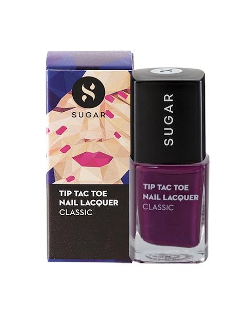 SUGAR Tip Tac Toe Classic Nail Lacquer - 014 Purple Prose