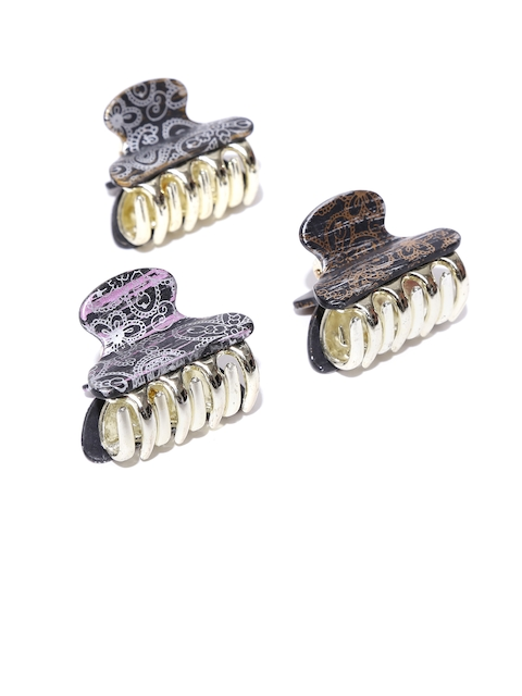 Accessorize Set of 3 Printed Hair Grasps
