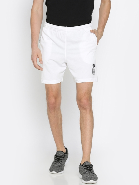 Proline Active Men White Solid Regular Fit Sports Shorts  available at myntra for Rs.404