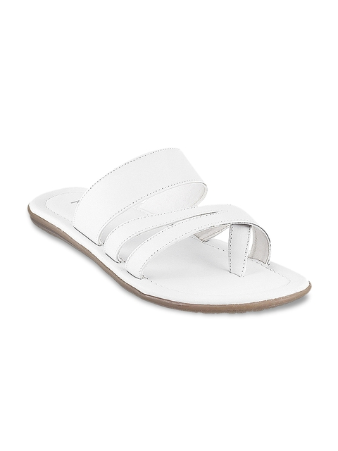 Metro Men White Sandals