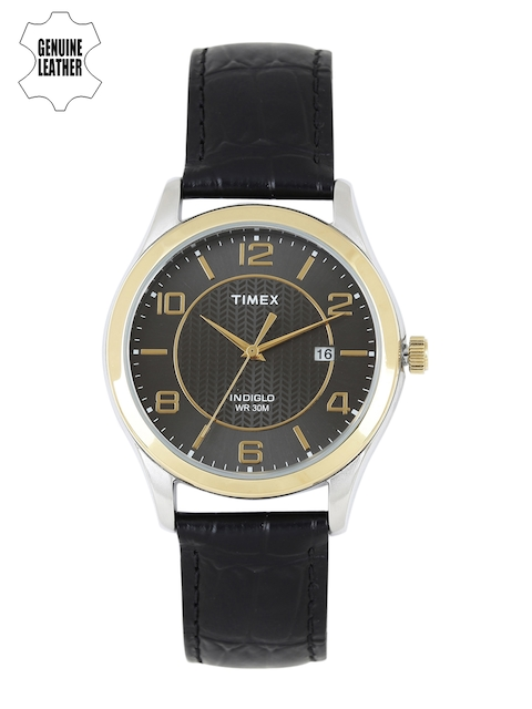 Timex Men Charcoal Analogue Watch T2P450_GD