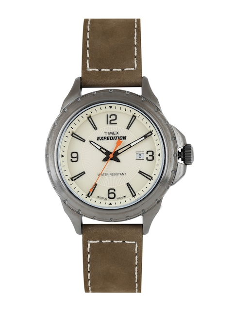 Timex Expedition Beige Analogue Men's Watch, T49909