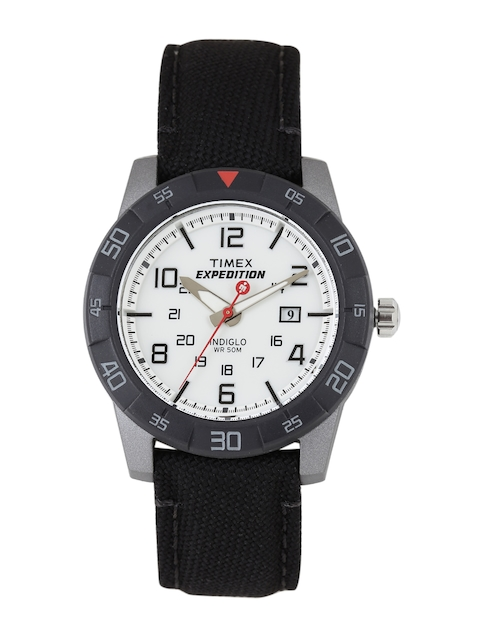 Timex Expedition Men White Analogue Watch T49863_GD