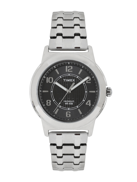 Timex Men Black & Grey Analogue Watch TW2P61800_GD