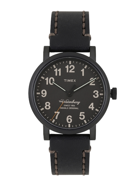 Timex Men Black Analogue Watch TW2P59000_GD
