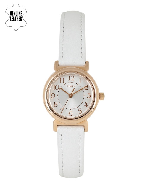 Timex Women Silver-Toned Analogue Watch T2P431_GD