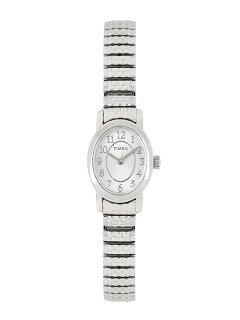 Timex Women Silver-Toned Analogue Watch TW2P60100_GD