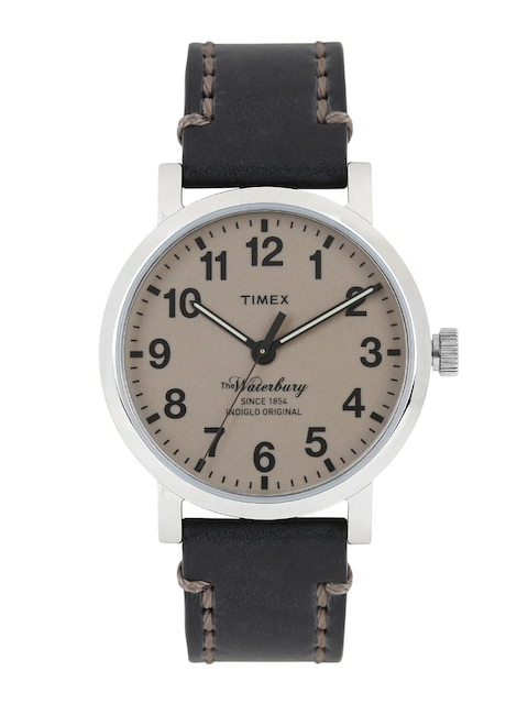 Timex Men Brown Analogue Watch TW2P58800_GD