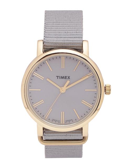 Timex Women Grey Analogue Watch TW2P88500