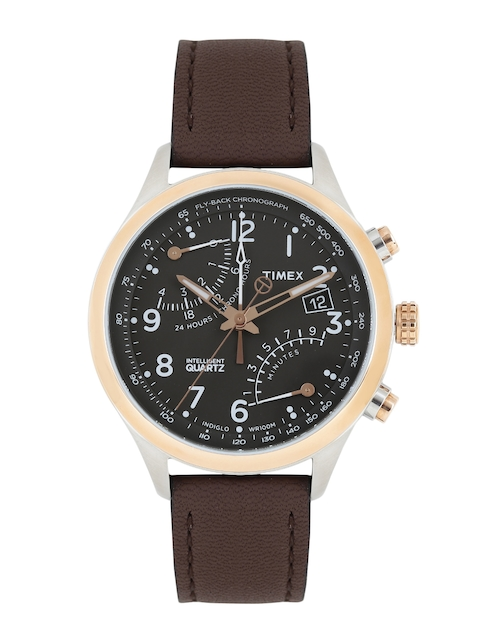 Timex Men Black Analogue Watch TW2P73400_GD