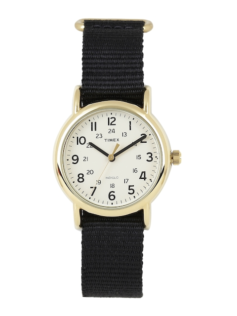 Timex T2P476 Analog White Dial Unisex Watch