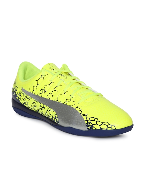 b6e5d20cd2af Puma Men Fluorescent Green evoPOWER Vigor 4 GRAPHIC Running Shoes
