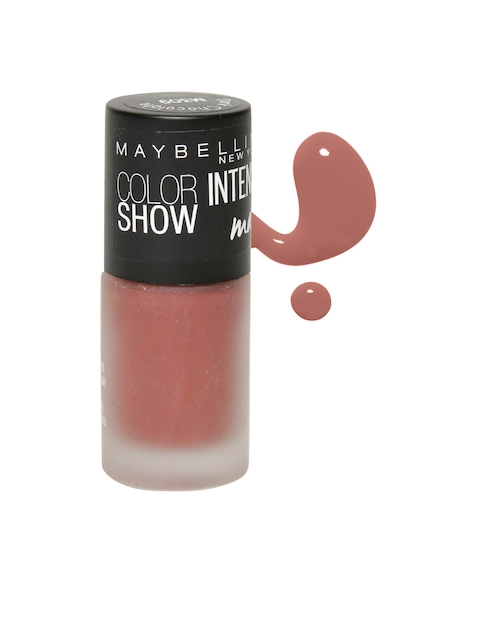 Maybelline Color Show Intense Dark Chocolate Matte Nail Polish M309