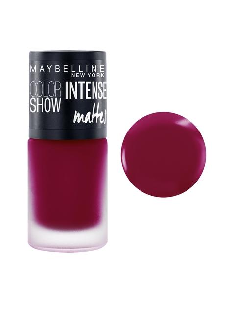 Maybelline New York Color Show Mystic Mauve Intense Matte Nail Paint M405
