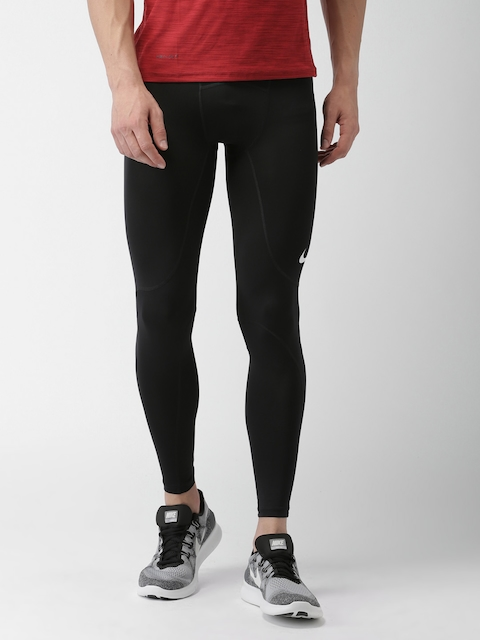 Nike Men Black Tight Fit AS M NP Tights
