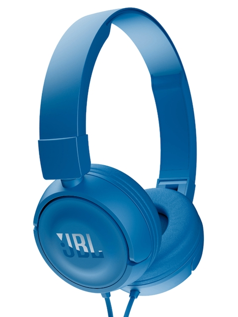 JBL Blue Over-the-Ear Headphones T450