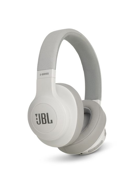 JBL E55BT On-Ear Headphones, White