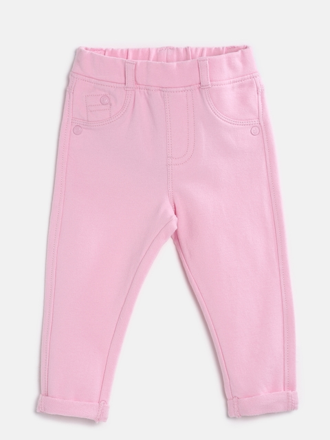 mothercare Girls Pink Treggings