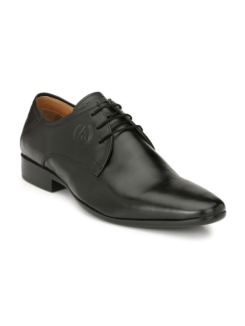Alberto Torresi Men Black Formal Derbys