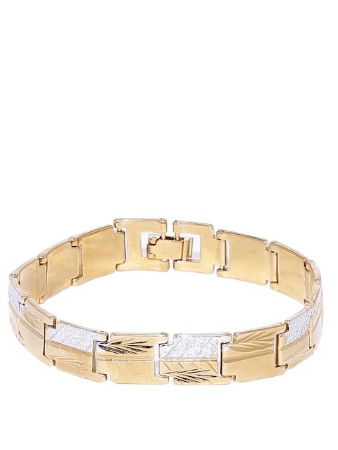 Dare by Voylla Men Gold-Toned Bracelet