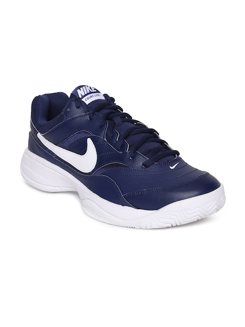 Nike Men Blue COURT LITE Tennis Shoes