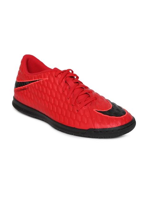 Nike Men Red Hypervenomx Phade III IC Football Shoes